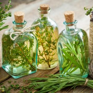 Preserve Fresh Herbs With Vinegar